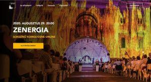 Áradt a ZENERGIA – jótékony célú online koncerten